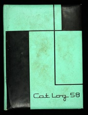 1958 Edition, West High School - Cat Log Yearbook (Bremerton, WA)
