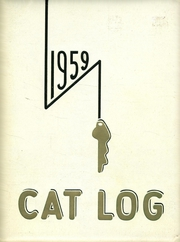 1959 Edition, West High School - Cat Log Yearbook (Bremerton, WA)