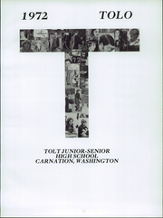 Page 5, 1972 Edition, Tolt High School - Tolo Yearbook (Carnation, WA) online yearbook collection