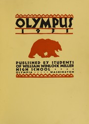 Page 7, 1931 Edition, Olympia High School WW Miller High School - Olympiad Yearbook (Olympia, WA) online yearbook collection