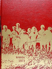 1973 Edition, University High School - Kronos Yearbook (Spokane, WA)