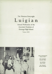 Page 7, 1948 Edition, Gonzaga Preparatory School - Luigian Yearbook (Spokane, WA) online yearbook collection