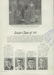 Page 16, 1949 Edition, Gonzaga Preparatory School - Luigian Yearbook (Spokane, WA) online yearbook collection