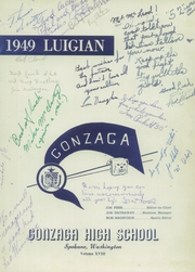 Page 7, 1949 Edition, Gonzaga Preparatory School - Luigian Yearbook (Spokane, WA) online yearbook collection