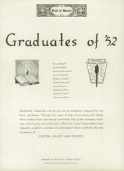 Page 10, 1952 Edition, Central Valley High School - Bear Yearbook (Veradale, WA) online yearbook collection