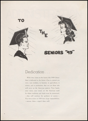 Page 9, 1949 Edition, Richland Columbia High School - Columbian Yearbook (Richland, WA) online yearbook collection