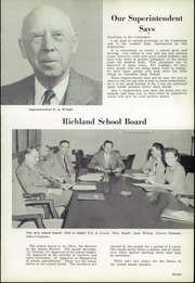 Page 13, 1952 Edition, Richland Columbia High School - Columbian Yearbook (Richland, WA) online yearbook collection