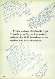 Page 8, 1952 Edition, Richland Columbia High School - Columbian Yearbook (Richland, WA) online yearbook collection