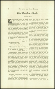 Page 12, 1913 Edition, Lewis and Clark High School - Tiger Yearbook (Spokane, WA) online yearbook collection