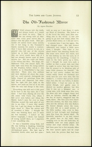 Page 17, 1913 Edition, Lewis and Clark High School - Tiger Yearbook (Spokane, WA) online yearbook collection