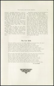 Page 13, 1916 Edition, Lewis and Clark High School - Tiger Yearbook (Spokane, WA) online yearbook collection