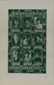 Page 14, 1927 Edition, Lewis and Clark High School - Tiger Yearbook (Spokane, WA) online yearbook collection