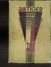 Page 1, 1930 Edition, Lewis and Clark High School - Tiger Yearbook (Spokane, WA) online yearbook collection