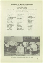 Page 11, 1942 Edition, Lewis and Clark High School - Tiger Yearbook (Spokane, WA) online yearbook collection