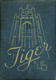 Page 1, 1945 Edition, Lewis and Clark High School - Tiger Yearbook (Spokane, WA) online yearbook collection