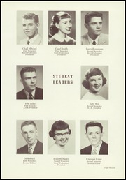 Page 17, 1955 Edition, Lewis and Clark High School - Tiger Yearbook (Spokane, WA) online yearbook collection