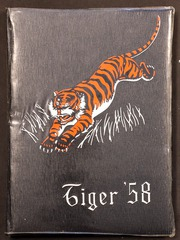 1958 Edition, Lewis and Clark High School - Tiger Yearbook (Spokane, WA)