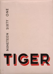 1961 Edition, Lewis and Clark High School - Tiger Yearbook (Spokane, WA)