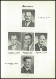Page 11, 1955 Edition, Kennewick High School - Keewaydin Yearbook (Kennewick, WA) online yearbook collection