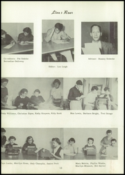 Page 16, 1955 Edition, Kennewick High School - Keewaydin Yearbook (Kennewick, WA) online yearbook collection