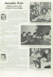 Page 13, 1954 Edition, Rogers High School - Treasure Chest Yearbook (Spokane, WA) online yearbook collection