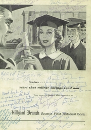 Page 3, 1954 Edition, Rogers High School - Treasure Chest Yearbook (Spokane, WA) online yearbook collection
