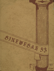 1953 Edition, Pasco High School - Sinewesah Yearbook (Pasco, WA)
