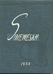 1958 Edition, Pasco High School - Sinewesah Yearbook (Pasco, WA)