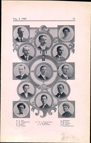 Page 17, 1909 Edition, Lincoln High School - Totem Yearbook (Seattle, WA) online yearbook collection