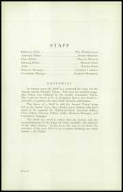 Page 10, 1919 Edition, Lincoln High School - Totem Yearbook (Seattle, WA) online yearbook collection