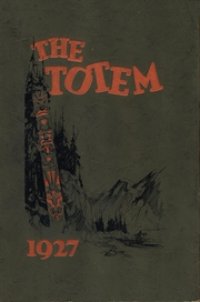 Page 1, 1927 Edition, Lincoln High School - Totem Yearbook (Seattle, WA) online yearbook collection