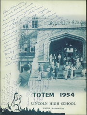Page 6, 1954 Edition, Lincoln High School - Totem Yearbook (Seattle, WA) online yearbook collection