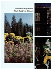 Page 6, 1972 Edition, Shadle Park High School - Sporran Yearbook (Spokane, WA) online yearbook collection