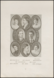 Page 16, 1909 Edition, Everett High School - Nesika Yearbook (Everett, WA) online yearbook collection