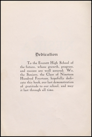 Page 8, 1914 Edition, Everett High School - Nesika Yearbook (Everett, WA) online yearbook collection