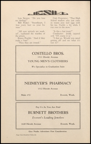 Page 164, 1929 Edition, Everett High School - Nesika Yearbook (Everett, WA) online yearbook collection
