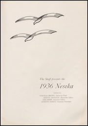 Page 9, 1936 Edition, Everett High School - Nesika Yearbook (Everett, WA) online yearbook collection