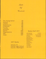 Page 13, 1977 Edition, Everett High School - Nesika Yearbook (Everett, WA) online yearbook collection