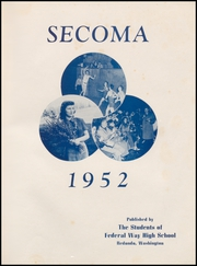 Page 5, 1952 Edition, Federal Way High School - Secoma Yearbook (Federal Way, WA) online yearbook collection