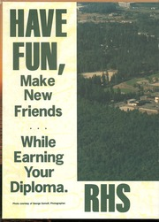 Page 2, 1987 Edition, Redmond High School - Mustang Yearbook (Redmond, WA) online yearbook collection
