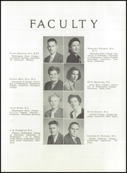 Page 13, 1947 Edition, Shelton High School - Saghalie Yearbook (Shelton, WA) online yearbook collection