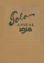 Page 1, 1918 Edition, Franklin High School - Tolo Yearbook (Seattle, WA) online yearbook collection