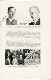 Page 11, 1929 Edition, Franklin High School - Tolo Yearbook (Seattle, WA) online yearbook collection