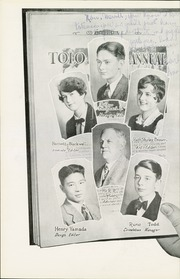Page 14, 1929 Edition, Franklin High School - Tolo Yearbook (Seattle, WA) online yearbook collection
