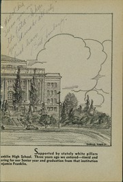 Page 3, 1930 Edition, Franklin High School - Tolo Yearbook (Seattle, WA) online yearbook collection