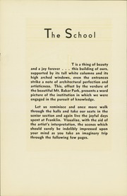 Page 8, 1930 Edition, Franklin High School - Tolo Yearbook (Seattle, WA) online yearbook collection