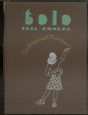 1943 Edition, Franklin High School - Tolo Yearbook (Seattle, WA)