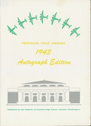 Page 7, 1943 Edition, Franklin High School - Tolo Yearbook (Seattle, WA) online yearbook collection