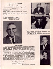 Page 9, 1951 Edition, Franklin High School - Tolo Yearbook (Seattle, WA) online yearbook collection