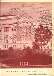 Page 5, 1952 Edition, Franklin High School - Tolo Yearbook (Seattle, WA) online yearbook collection